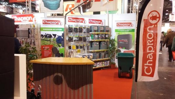 CHAPRON's booth on the SIMA 2017 …
